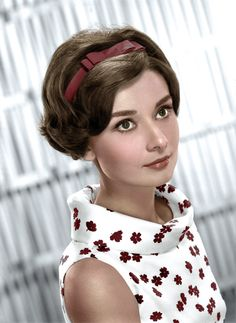 Audrey Hepburn Coloured by History in Colour