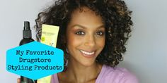 Favorite Drugstore Styling Products for Curly Hair | Melting Pot Beauty
