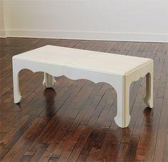Frank Oriental Vellum Coffee Table - Coffee Tables - Collection - Mattaliano