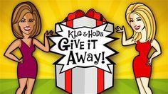 NBC Morning Show - today.com/klgandhoda – The KLG & Hoda Give It Away Sweepstakes 2015.