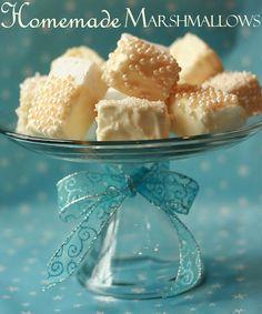 homemade marshmallows pretty!