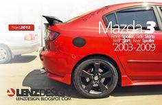 Mazda 3 BK Lenzdesign Bodykit & Spoilers 2003 2004 2005 2006 2007 2008 2009 Mazda 3 2008, Custom Cars, Kit, Ideas, Mazda 3 Sedan, Autos, Car Tuning, Pimped Out Cars, Thoughts