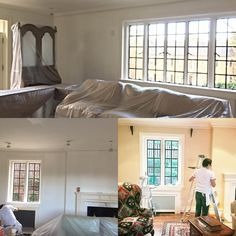 Day 1. Work has begun on our #Kalorama #redesign with Susan Harreld. Follow our progress right here on Instagram.  #remodeling #home #decor #washingtondc #homedecor #interiordesign #historichome #traditionaltomodern #leerobinsoncompany #susanherrald #interiordesigners #interiorstyle