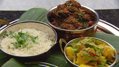 MasterChef - Chicken Rendang with Coconut Rice, Pineapple Cucumber Achar and Roti Jala - Recipe By: Sashi Cheliah - Contestant Coconut Rice, Toasted Coconut, Rice In The Microwave, Cooked Pineapple, Masterchef Recipes, Best Curry, Dried Chillies, Masterchef Australia, Indian Food Recipes