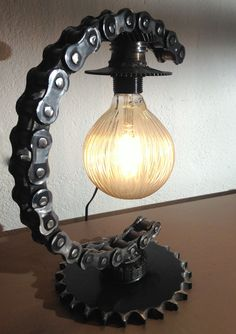 """"""" The Chain """" INDUSTRIAL LAMPS #industriallamps #steampunklamps #industrial #steampunk #design"""