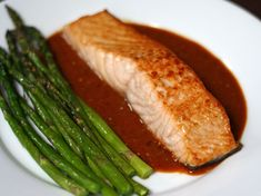 Stoplight Piperade with Spicy Broiled Salmon   Recipe   Salmon, Spicy ...