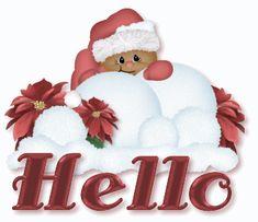 Christmas Hello,Animated - Christmas Photo (9469306) - Fanpop