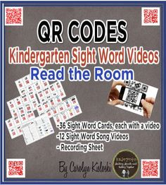 QR Codes for Sight Words FREEBIE!