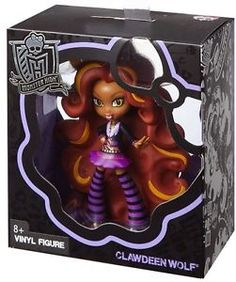 Monster High Clawdeen Wolf Vinyl Figure New Doll | eBay