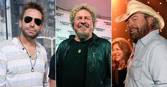Sammy Hagar Recruits Toby Keith, Chad Kroeger, DMC for 70th Birthday Film #headphones #music #headphones