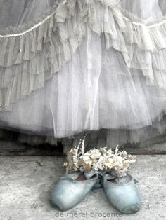 Pale blue ballet slippers and tulle Pointe Shoes, Toe Shoes, Ballet Shoes, Ballerina Shoes, Ballet Feet, Ballet Tutu, Ballet Dancers, Grands Ballets Canadiens, Picsart