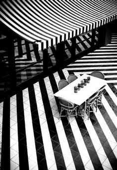 *Floors* brought to you by All-In Living #stripes #black&white  www.allinliving.nl