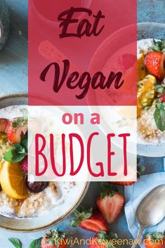 Are you going vegan? Do you want to be a frugal vegan and save money on groceries!? See how this woman slashed her grocery budget and went vegan! This is full of great tips, links to more articles, and the 15 items she buys all the time to save money and eat well while vegan. Kiwi And Keweenaw