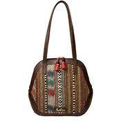 Shoulder Bags, ISTANBUL 01-SHOULDER BAG-BROWN RED