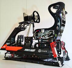 Racing Car Simulator Cockpits