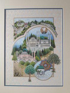 Fatma Zehra Aktaş....Istanbul...Sultanahmet camii...Ayasofya camii..Alman çeşmesi