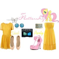 """Fluttershy (My Little Pony: Friendship is Magic)"" by colorsgalore on Polyvore"