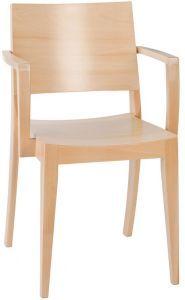 Křesílko B-9231 BEECH (buk) Outdoor Chairs, Dining Chairs, Outdoor Furniture, Outdoor Decor, Design, Home Decor, Wood Benches, Decoration Home, Room Decor