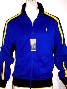 Polo Ralph Lauren performance pique track jacket size xl new MSRP$125.00 on sale #poloRalphLauren #trackjacket