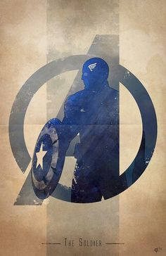 The Avengers: Captain America: The Soldier Marvel Dc Comics, Hq Marvel, Marvel Heroes, The Avengers, Avengers Humor, Avengers Actors, Avengers Poster, Logo D'art, Art Logo