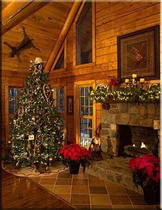 Cabin Christmas Decor Ideas Cabin Christmas Decor - This Cabin Christmas Decor Ideas photos was upload on December, 8 2019 by admin. Here latest Cabin Christmas Decor photos coll. Cabin Christmas Decor, Noel Christmas, Rustic Christmas, Cowboy Christmas, Western Christmas Decorations, Western Christmas Tree, Christmas Fireplace, Primitive Christmas, Log Cabin Living