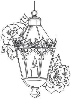 {A imprimer} Une jolie lanterne de noël pour continuer à
