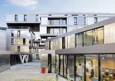 Gallery of 56 Apartments in Nantes / PHD Architectes - 1