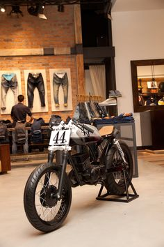 Suzuki AX100 cafe racer by Ace Custom Shop