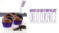 Mousse au Chocolat Oreo Cupcakes