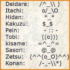 Comment the symbol for your fav Akatsuki ~ HoKage Naruto #anime #animelover #otaku #manga #love