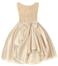 Flower Girl  Dress Bridesmaid  Special by BURATINOBOUTIQUE on Etsy, $43.00 but in white or ivory