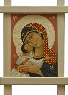 Holy Virgin of Tenderness. 2011