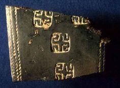 Casalmarittimo, frammento di ceramica con decorazioni
