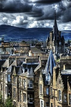 Edinburgh, Scotland...What a beautiful place.