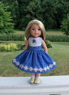 CUSTOM ORDER for PENNY / Two Embroidered  Dresses / by Farmcookies
