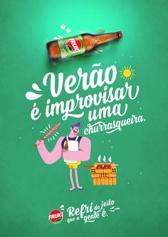 Fruki Guaraná - Verão 2017 on Behance