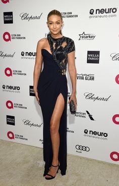 PeoplePartys&Places / Gigi Hadid in Atelier Versace                                                                                                                                                                                 More