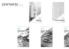 Graduate Architecture Portfolio by Sari Sartika Portfolio Web, Portfolio Covers, Portfolio Layout, Portfolio Design, Architecture Concept Drawings, Architecture Details, Green Architecture, Amazing Architecture, Book Design