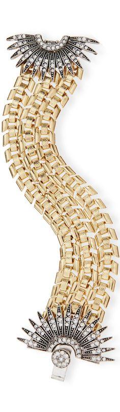 Lulu Frost Beacon Bracelet with Crystal Starburst