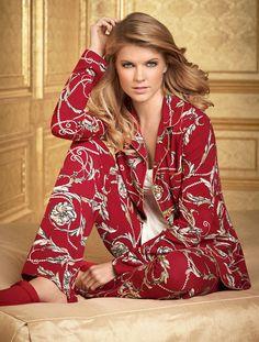 #Soma Embraceable Pajamas in Status Scroll Print #MySomaWishList #MySomaWishList
