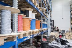 Wire bundles in cable warehouse, Munich, Bavaria, Germany Bavaria Germany, Munich, Clipart, Videos, Warehouse, Adobe, Cable, Wire, Illustrations