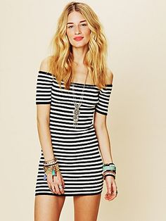 Off the Shoulder Ribbed Bodycon  http://www.freepeople.com/whats-new-spring-shine/off-the-shoulder-ribbed-bodycon/