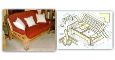 Sofa and Armchair Plans - Furniture Plans and Projects | WoodArchivist.com