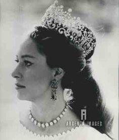 Princess Margaret, photo by Lord Snowdon, Kensington Palace, 1969.