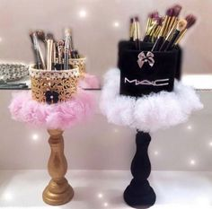 Makeup Room Ideas Makeup Brush Holders for Businesses - Things I Love . - Makeup Room Ideas Makeup Brush Holders for Businesses – Things I Love … - Make Up Organizer, Make Up Storage, Diy Storage, Storage Organizers, Storage Ideas, Makeup Room Decor, Makeup Rooms, Do It Yourself Organization, Makeup Organization