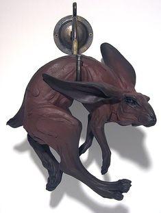 Beth Cavener Stichter | hare sculpture - Remember Me