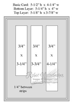 template with measurements for a banner card with uneven lengths ... from RobinsCraftRoom.com ... just attached a wide ribbon across the top for a finished look ... useful sketch/template ....