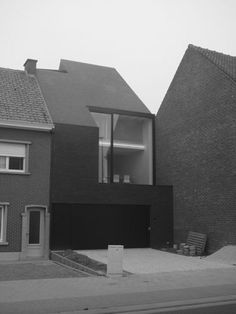 house B | tielt - Projects - CAAN Architecten / Gent