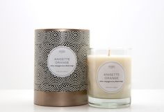 Anisette Orange Candle design  O love scented candles