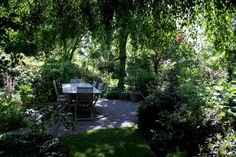 Een schoon terras, voor warme (euhm) zomerdagen!
